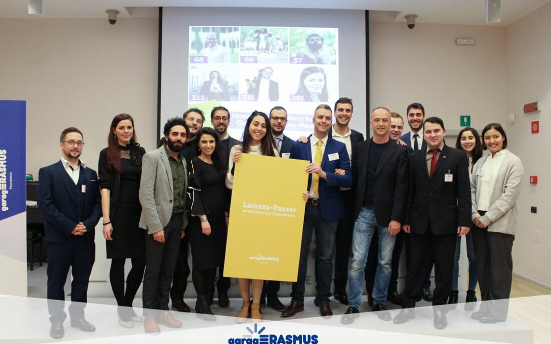 Konstantinos Maragkos, best Erasmus Talent of 2017