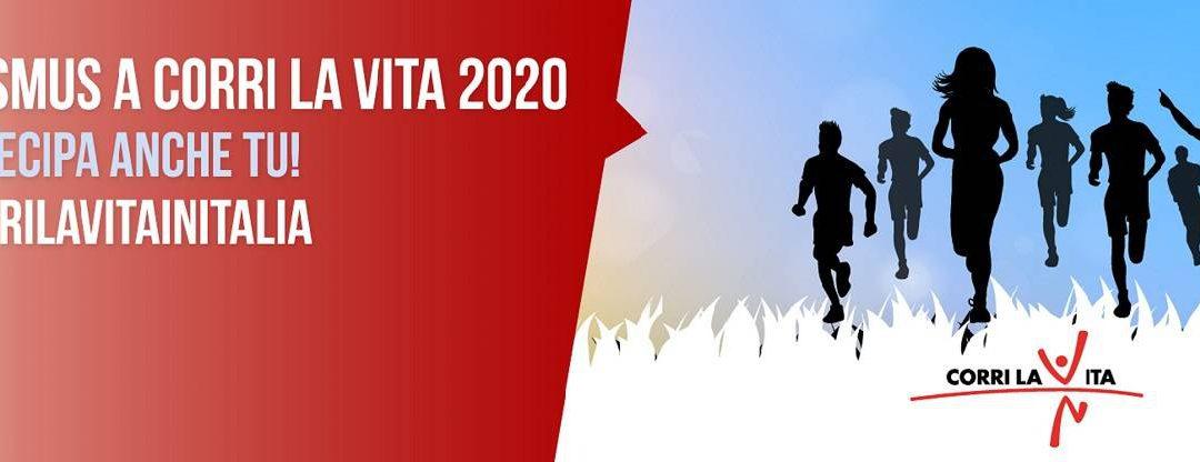 "Support ""Corri la Vita"" 2020 event in Florence (27 September 2020)"