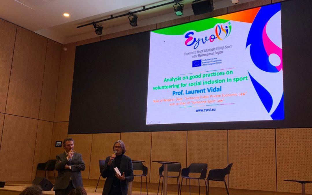 EYVOL hosts the first conference on International Sport Volunteerism