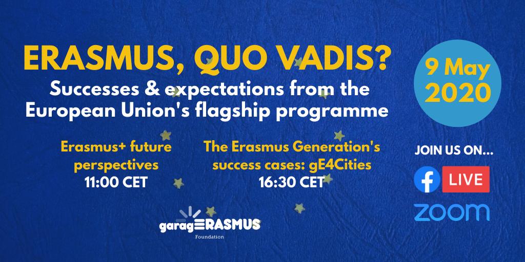 Erasmus, Quo Vadis? Watch the videos of the event!