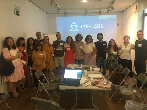 Kick-start for the IYE-LABS Erasmus+ project