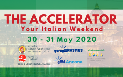 """Join """"The Accelerator: Your Italian Weekend!"""""""
