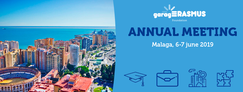 Register for garagErasmus Annual Meeting 2019
