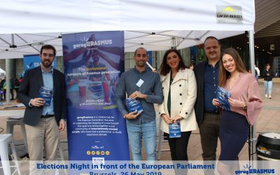 Elections Night at the European Parliament