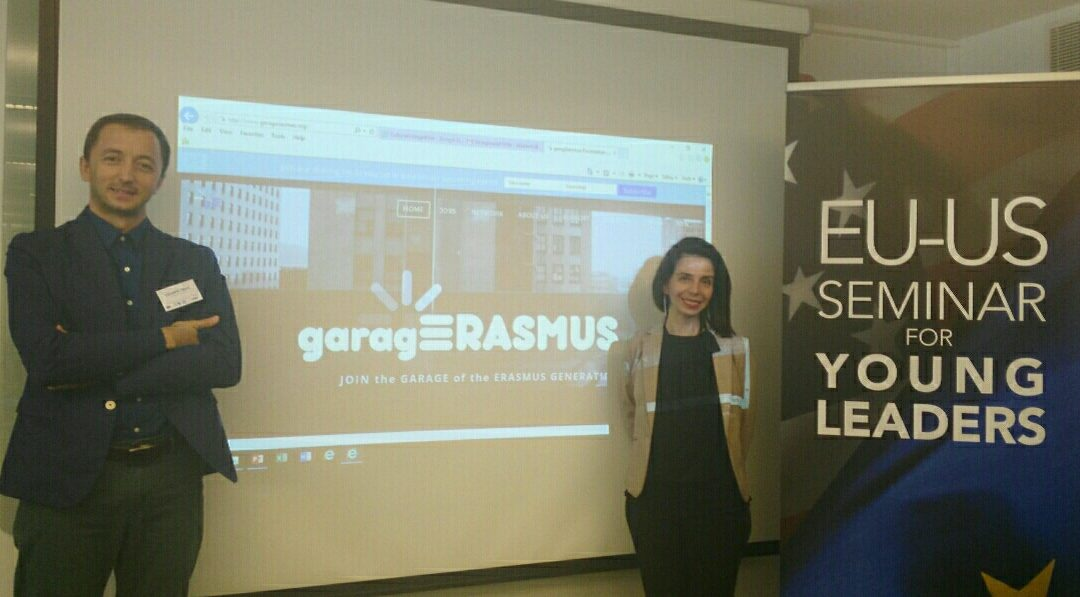 gE in the EU-US Seminar for Young Leaders 2017