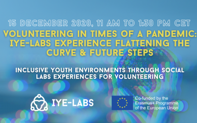 Volunteering in times of a pandemic: IYE-LABs experience flattening the curve & future steps