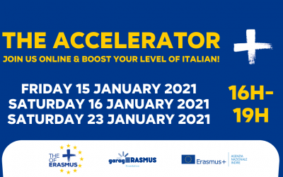 Join the January sessions of the Accelerator online and keep boosting your level of Italian!