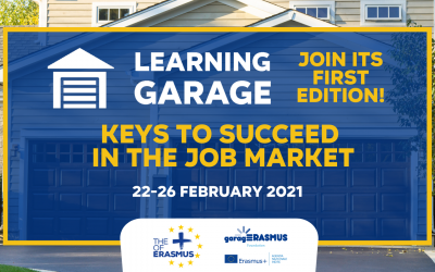 Registration for the first edition of the Learning Garage (22-26 February 2021) is open!