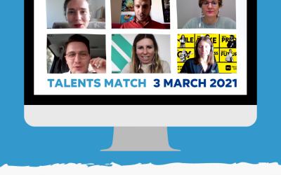 Talents Match: increasing Erasmus+ students' employability through speed dating!