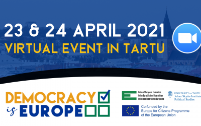 Join the Democracy is Europe Grassroots Event in Tartu!