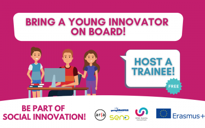 Bring a young innovator on board: become a SEND hosting organisation!