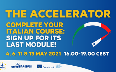 Complete the Accelerator: join its last sessions in May 2021!