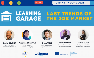 Registration for the second edition of the Learning Garage (31 May – 4 June) is open!