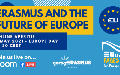 Join our Online Apéritif on 9 May: Erasmus & the Future of Europe