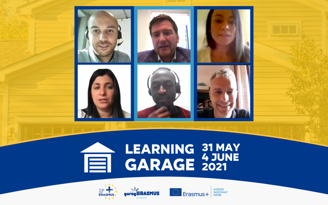 gE & Erasmus+ INDIRE hosted the second edition of the Learning Garage between 31 May – 4 June 2021