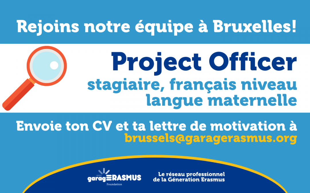 gE is looking for a Project Officer for its Brussels office