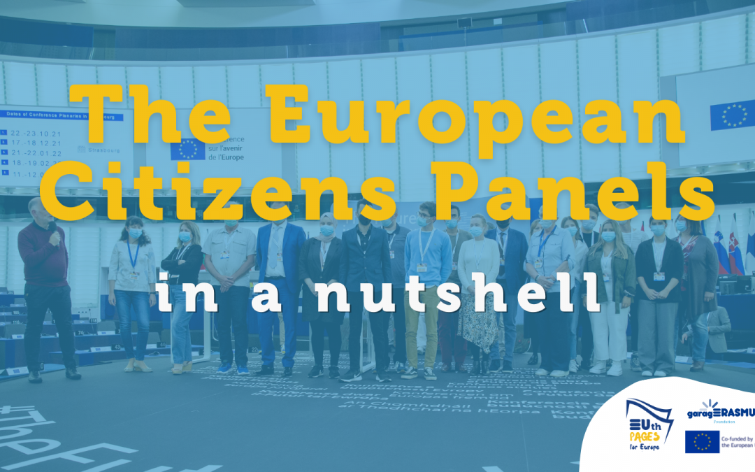 The first European Citizens' Panels in a nutshell